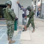 Los Militares ya están en las calles de diferentes ciudades del país
