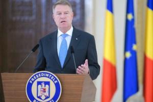 Președintele Klaus Iohannis declarații de presă
