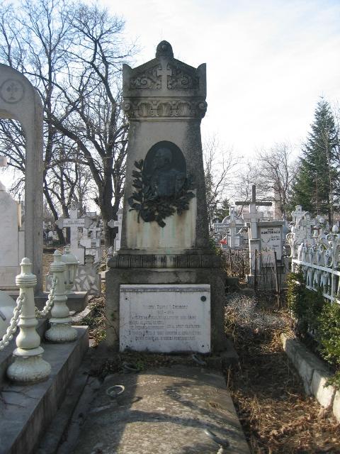 Basorelief Zamfir I. Gheorghiu