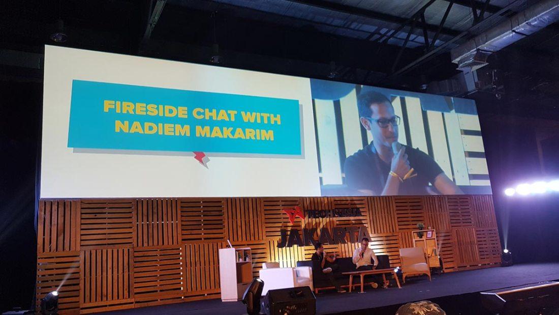 Fireside Chat with Nadiem Makarim (CEO Gojek) dipandu David Corbin