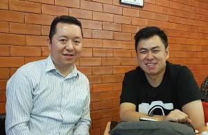 Bersama Rico Satria Chandra, Founder dan CEO Plaza Kamera salah satu startup sukses yang berasal dari Surabaya , di sela-sela acara padat Tech In Asia Jakarta 2016