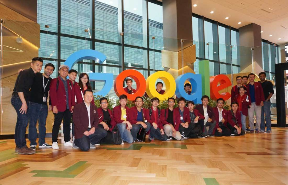 Teknik Informatika Universitas Ciputra @ Google Asia Pacific Head Quarters