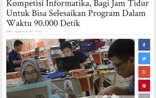90KCode Liputan TribunNews (Surya Online)