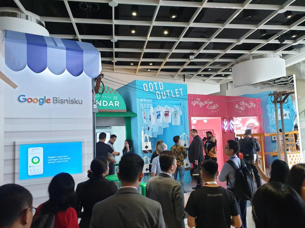 Sandbox Experience di ajang Google For Indonesia 2018