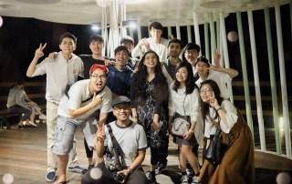 Foto bersama dengan mahasiswa dari Korea, Pakistan, Meksiko, Vietnam, dan Jepang
