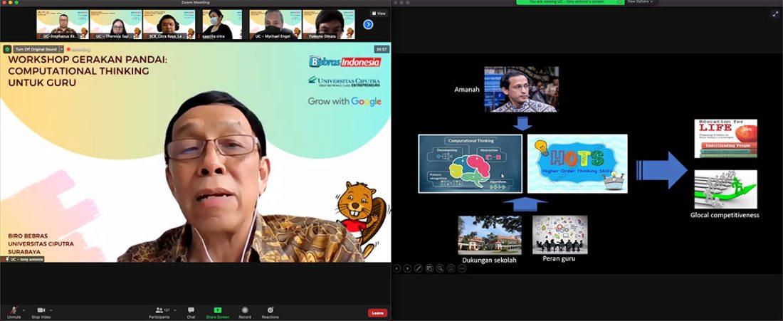 Workshop Computational Thinking - Tony Antonio