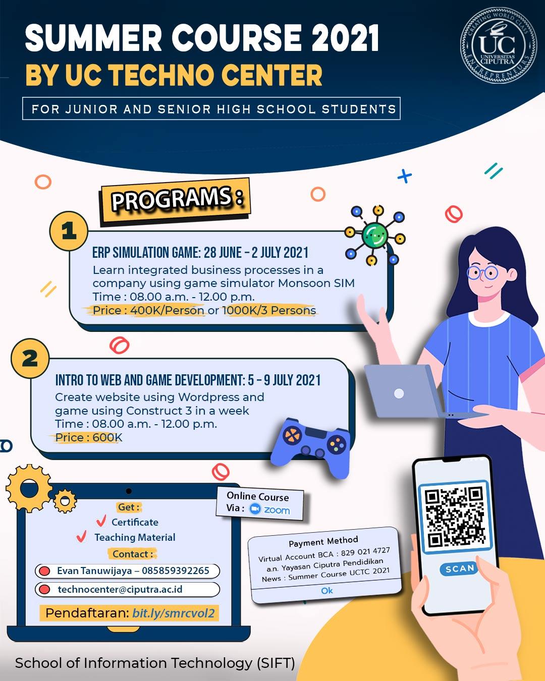 UC Techno Center Summer Course 2021