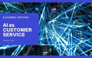 AI as Customer Service