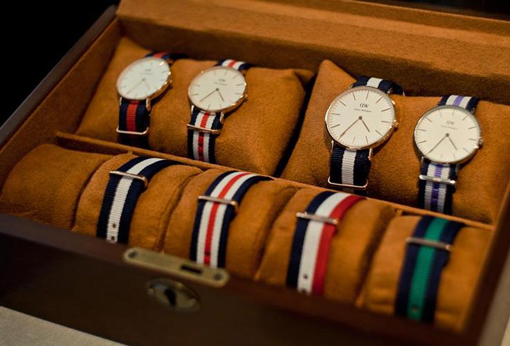 誕生日・クリスマスにダニエルウェリントンの腕時計を。ペアウォッチも!