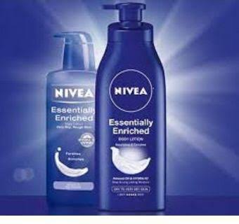 Nivea Essentially Enriched Body - Best Body Cream and Lotion for Dark Complexion Skin in Nigeria
