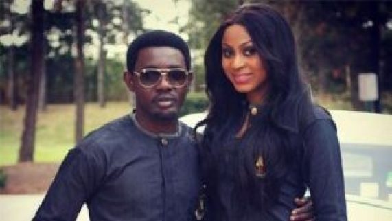 AY Makun and Wife 2