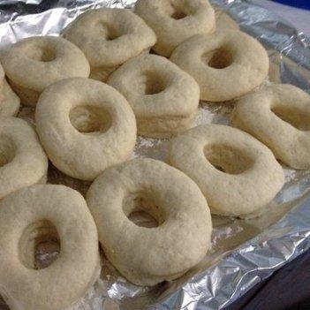 already cut Doughnuts