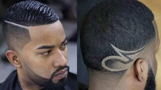 Wave hair cut