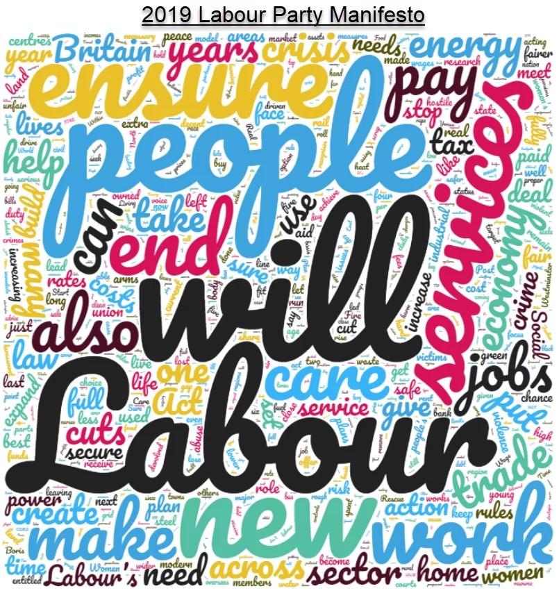 labour party 2019 manifesto