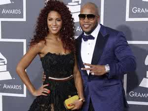Flo rida and a guest