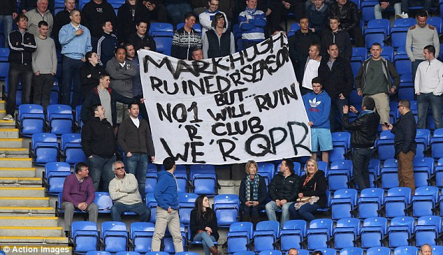 Dissapointed QPR Fans.