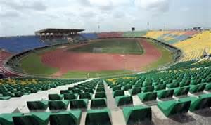 Teslim Balogun Stadium, Surulere, Lagos.