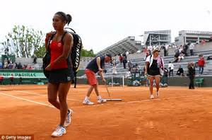 Heather Watson Heads Out Of Roland Garros.