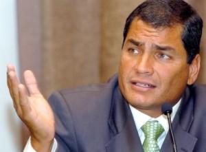 President Rafael Correa