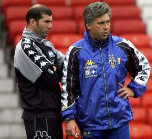 Long-Time Pally: The Pair Were Together at Juventus.