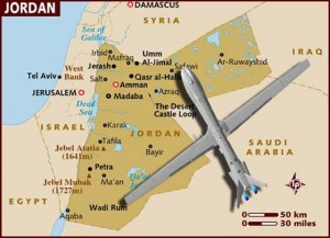 map syria-jordan