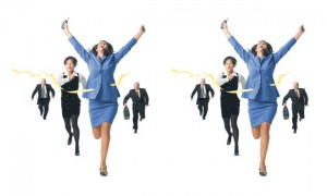 working-woman-running