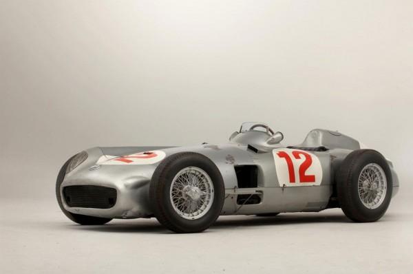 The Racing Car Driven by Formula 1 Legend Juan Manuel Fangio.