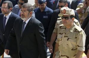 Mursi, defence chief