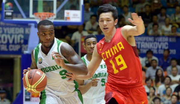 D'Tigers Against China at the Stankovic Cup.