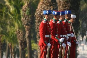 Royal guard of Morocco