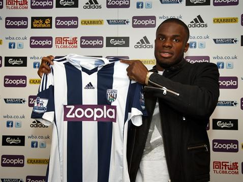 Victor Anichebe Switches to West Brom Until 2016.