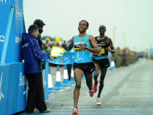 MO Farah Narrowly Missed Out of Winning  the Great North Run to Kenenisa Bekele Last Month.