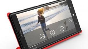Nokia Lumia 1520 large-screen phone, or phablet