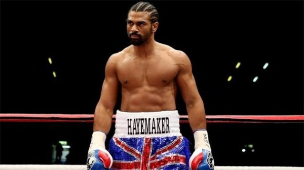 David Haye Withdraws from His February 8, Fight With Tyson Fury.