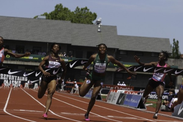 Okagbare Claims Runners-Up Position at the Prefontaine Classics in Oregon, Eugene, America.