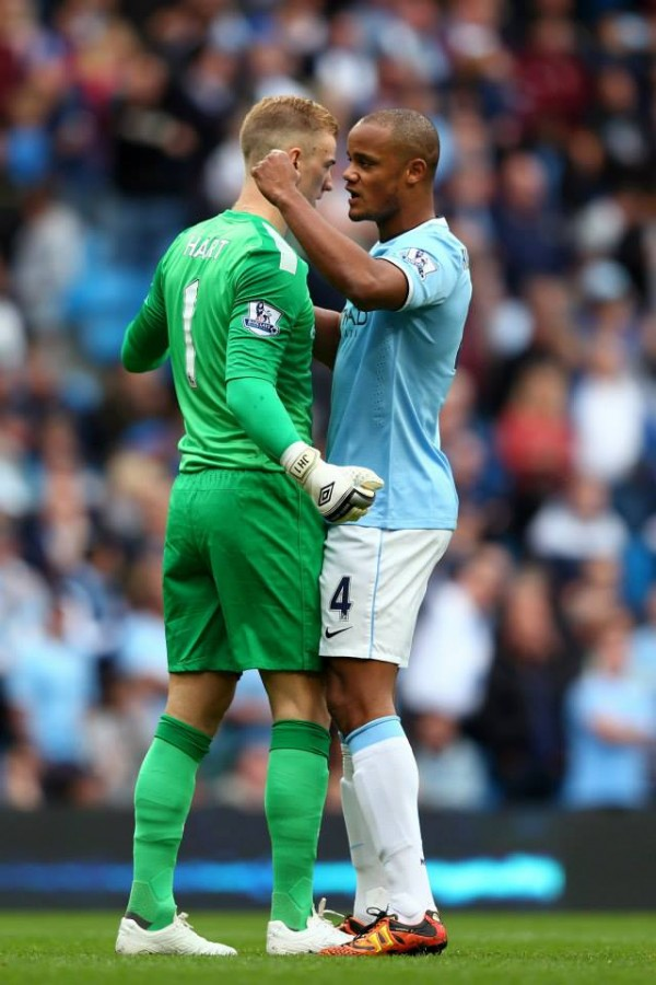 Kompany Named in City's Squad for West Brom But Hart Could Still Be on the Bench.