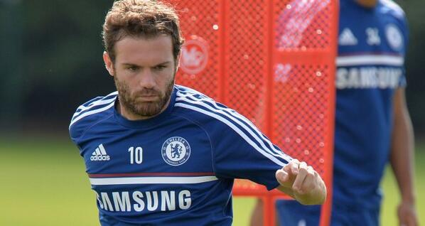 Juan Mata Set for Old Trafford Switch.