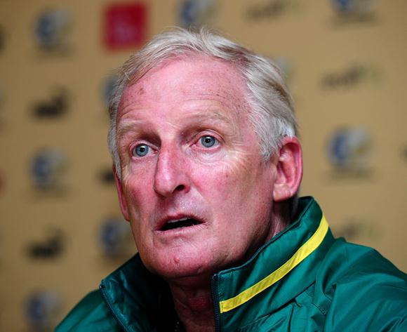 Gordon Igesund Says Sunday's 3-1 Loss to Nigeria is Not the Lowest Point of His Career. Allan James/ Backpagepix.
