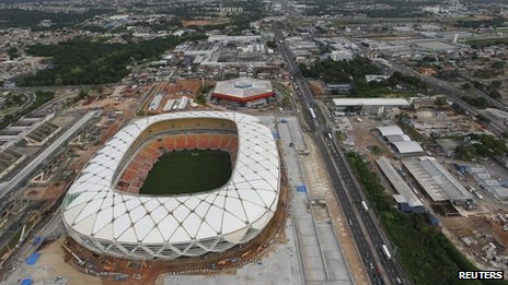 Three People Has Died at the Manaus Stadium Venue in the Past Twelve Months.