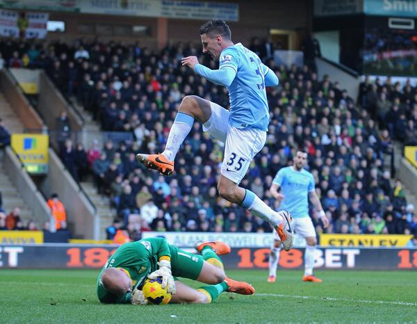 Brad Friedel Denies City a Chance to Go Top. Getty Image.