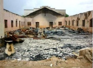 One-of-the-Nigerian-churches-burned-down