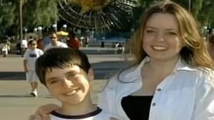 Brad George and his mother Gerogina Latshaw