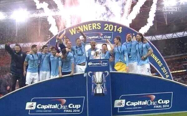Manchester City Clinches Capital One Cup.