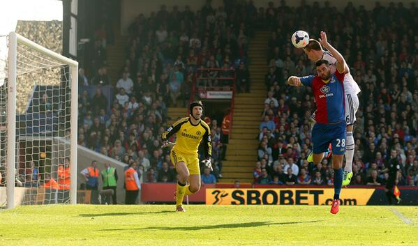 John Terry Scores An Own Goal at Selhaust Park.