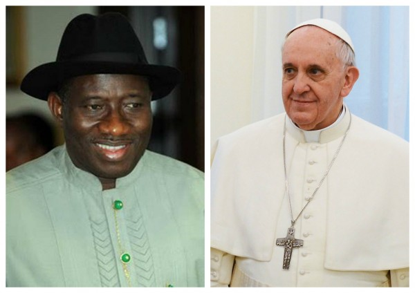 goodluck_and_pope_francis