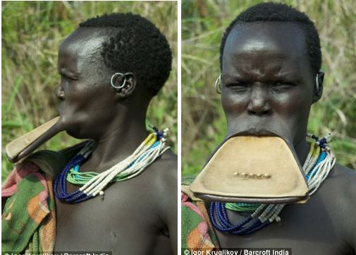 stick fights and lip plates In this photo, ebuka is transformed as a surma warrior of ethiopia ever heard of the name before well, i got curious and found out that piercing and lip plates are.