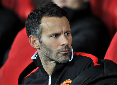 Manchester United Interim Coach Ryan Giggs.