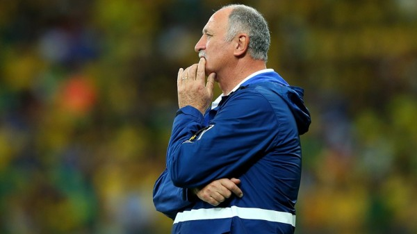 "Scolari Describes His Team's Humiliation By Germany as ""Catastrophic. Image: Fifa via Getty Image."