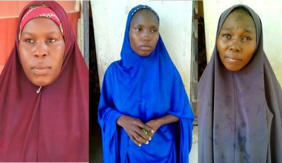 female terrorist suspects