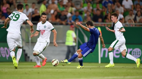 Cesc Fabregas Scored Two Goals in the Pre-Season and Has been Tipped to Excell in the Absence of rank Lampard By Jose Mourinho. Image: CFC.